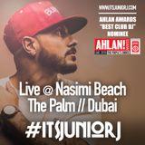 #ItsJuniorJ Live @ Nasimi Beach (The Palm, Dubai)