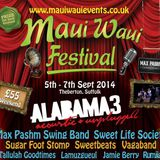 Maui Waui 2014 - Saturday afternoon set