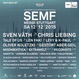 Felix Kroecher - Live @ Stuttgart Electronic Music Festival 2015 - 12.12.2015