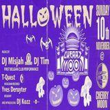 "Yves De Ruyter & DJ Misjah at ""Halloween"" at Cherry Moon (Lokeren - Belgium) - 10 November 1996"