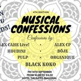 2018-09. KOKO & FRIENDS, MUSICAL CONFESSIONS THE GATES PULP 122BPM