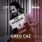 24 Hours of Vinyl (NY) - GREG CAZ (Presented by Discogs)