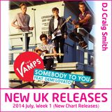 2014-07-06 July Week 1 New UK Chart Releases