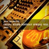2010 Geisha Nights Birthday Special -  Part 1 (Deep/House/Jackin/Funk)