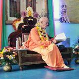 Su Santidad Gunagrahi Goswami - El mayor enemigo de aquel que disfruta de los sentidos