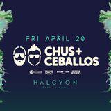 Chus & Ceballos - Live at Halcyon (San Francisco) - 20-Apr-2018