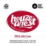 Houze Arrest® - Ibiza Live Radio 14.02.2018 50th Edition