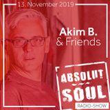 Absolut Soul Show /// 13.11.2019 on SOULPOWERfm