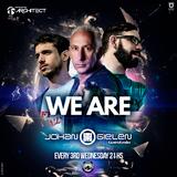 Architect - We Are 003 - 21-04-2016 / Alme Music World - GuestMix Johan Gielen (CLASSIC SET)