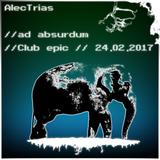 AlecTrias // ad absurdum // 24.02.2017 - ohne Atmo @ Club epic (Magdeburg)