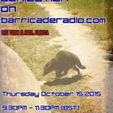 Sonication with Paul Mansell on Barricade Radio 15 October 2015