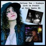 Chrissy Tee + Sopheye Live in Studio at Pyro Radio HQ