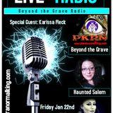 Beyond the Grave Radio Guest Karissa Fleck