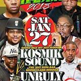 Who Badda Clash - Kosmik Sound v UnRuly Stumpy Sound@All Nations Brooklyn 27.1.2018