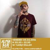 Alpha Beat #16 w/ Ganji Killah - 05.02.2016