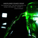 Unexplained Sounds Group - the recognition test # 12