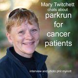 parkrun  for cancer patients - Coldham's Common Cambridge.
