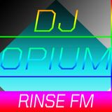 DJ Opium, Rinse FM, London Pirate Radio Station 1997 – 1998