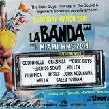 Meli K Live @ La Banda Tour, Therapy Miami, WMC 2014, USA (Sat. 29/03)