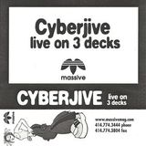 Cyberjive Live on 3 decks MASSIVE MIX 2000