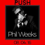 Phil Weeks @ Push, BlackBox, Gussola - 2016-04-08
