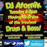 07.02.17 DJ Atomik 2 Hour Radio-Active Drum & Bass Show!