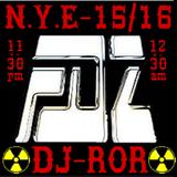 DJ-ROR - Midnight show N.Y.E 2015/2016