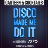 Disco made me do it- Appo live at C&C 21/04/18