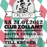 David Dorad @ CIRCUS 030 - Altes Zollamt Stuttgart, 21-07-2012