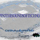 "Deepin2TheSoundofTechno #09 ""Oldskool"" mixed by DJ Shapeshifter July'13"