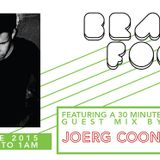 Brain Food with Rob Zile - Live on KissFM - 18-06-2015 - PART 3 - GUEST MIX - JOERG COON