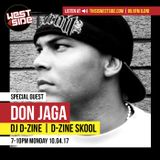 DJ D-Zine interviews DON JAGA (air date: 10 April '17)