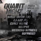 CJ Art @ Quaint Night, Pelėda, Vilnius (Lithuania) [14.10.2016]