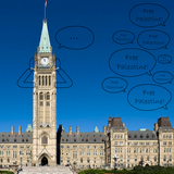 What is the 'e-1293 (Israel)' petition presented recently to the Government of Canada?