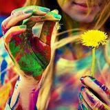 ,, finger painting