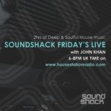Soundshack Fridays with John Khan on Housestationradio 6th April 2018