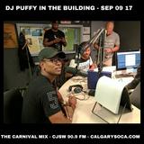 DJ PUFFY interview - Carnival Mix - Episode September 9, 2017
