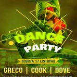 Grëco - Dance Party 18/11/18 @Jagiellońska Cafe&Cocktail Bar Żywiec