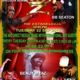 Estaselekta Live Radio Show Benjy Myaz, Jo Elle, Sheldon Senior ,BB Seaton on www.zionhighness.com