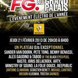 Sander van Doorn - Live @ Grand Palais (Paris, France) - 21.02.2013