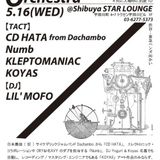 2012.5.16 VERVE AfterParty[Machine Orchestra]CD HATA LIVE SET