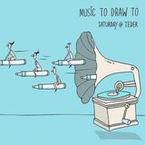 Music To Draw To #5 | Ofer Tal | 15/09/18