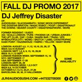 DJ Jeffrey Disaster Autumn / Fall DJ Promo 2017 Mix