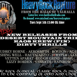 Hard Rock Hell Radio - Heavy Rock Rapture -  Sept 5.