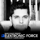 Elektronic Force Podcast 077 with Florian Meindl