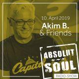 Absolut Soul Show /// 10.04.2019 on SOULPOWERfm