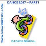 Dance 2017, volume 1, with the top EDM musics in WW charts/com as top EDM nas listas mundiais.