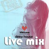 Live Mix @AmericanJunkie |May.2018| (deep house mix)
