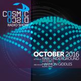 COSMIC DISCO RADIOSHOW - OCTOBER 2016