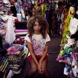 Hollie Cook-Prince Fatty-Horseman / Press Conference Reggae Sun Ska Festival August 2011